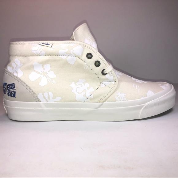 554e43e346 Vans Taka Hayashi Chukka LX Hawaiian Floral Shoes